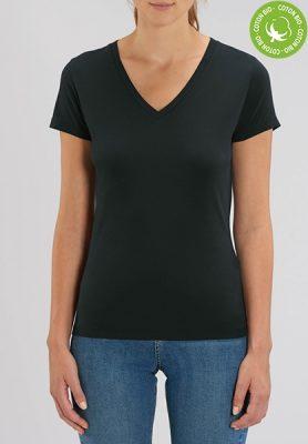 T-shirt bio femme col V - Mon-BDE