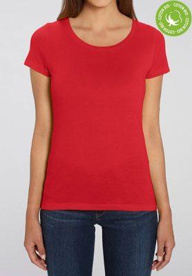 T-shirts étudiants personnalisés - T-shirt bio femme col rond - Mon-BDE