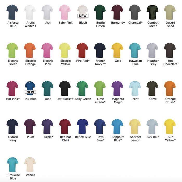 T shirt sport personnalisé